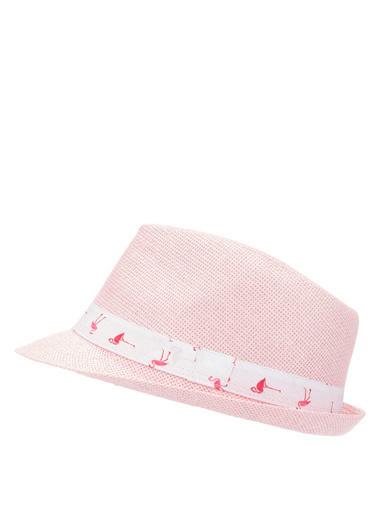 DeFacto Hasır Şapka Pembe